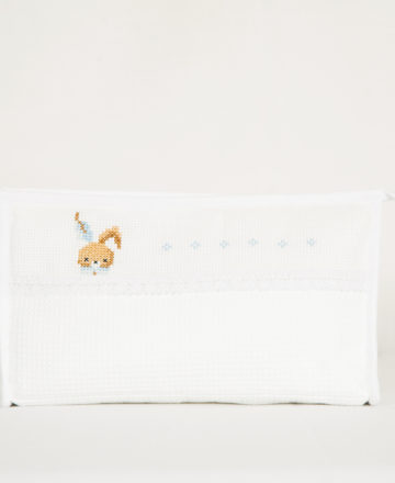 blue rabbit large washbag