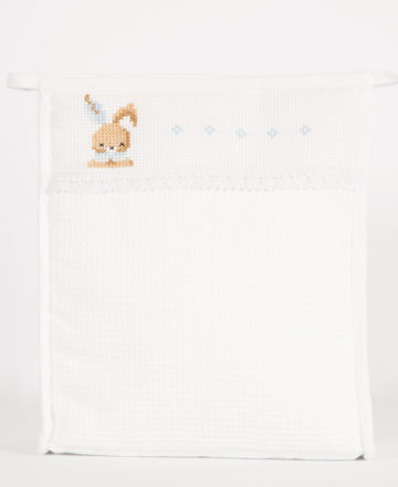 blue rabbit long washbag